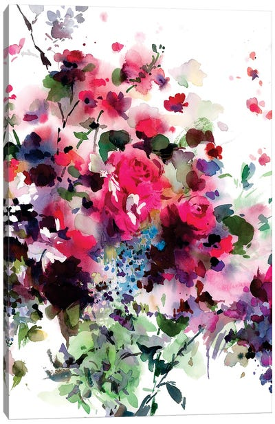 Agitato Canvas Art Print