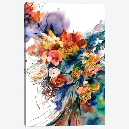 Dal profondo Canvas Print #GOG85} by Gosia Gregorczyk Canvas Art Print