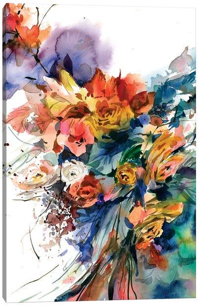 Dal profondo Canvas Art Print