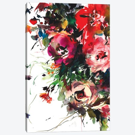 Blooming bounty Canvas Print #GOG86} by Gosia Gregorczyk Canvas Art Print