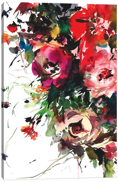 Blooming bounty Canvas Art Print