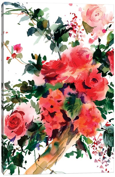 Ti penso Canvas Art Print