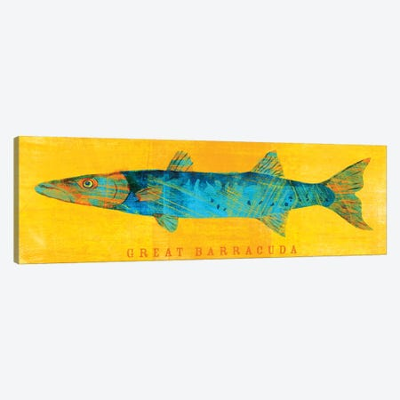 Great Barracuda Canvas Print #GOL107} by John Golden Canvas Wall Art