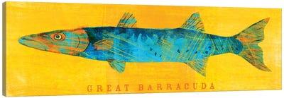 Great Barracuda Canvas Art Print