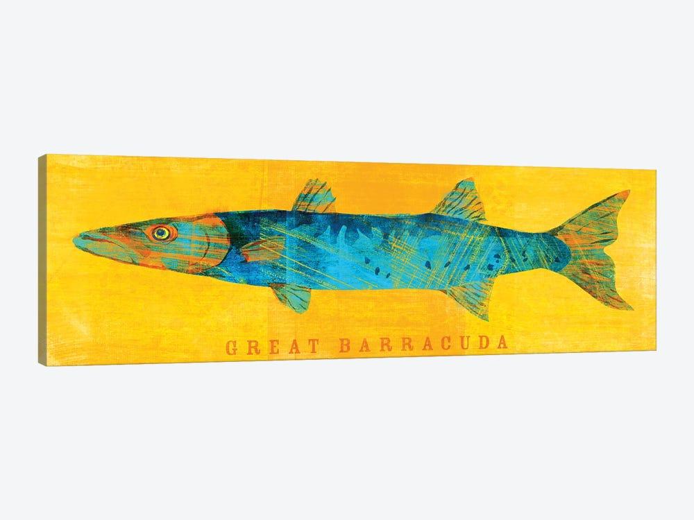Great Barracuda by John Golden 1-piece Canvas Print