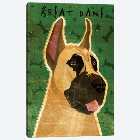 Great Dane Canvas Print #GOL108} by John Golden Canvas Art Print