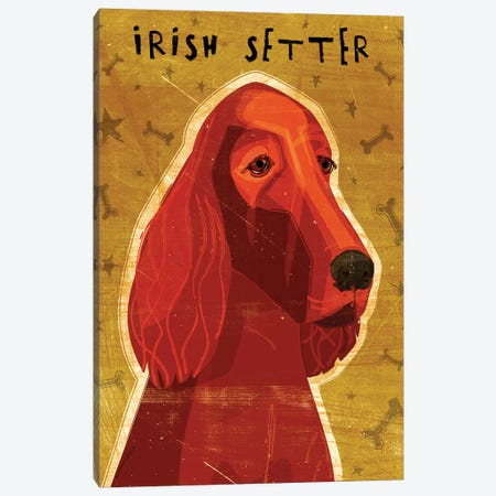 Irish Setter 3-Piece Canvas #GOL126} by John Golden Canvas Artwork