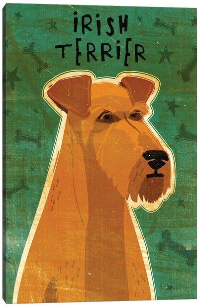 Irish Terrier Canvas Art Print