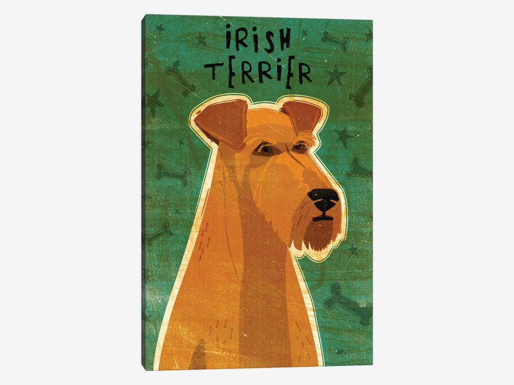 Irish Terrier by John Golden 1-piece Art Print