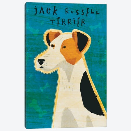 Jack Russell Terrier Canvas Print #GOL131} by John Golden Canvas Art