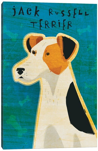 Jack Russell Terrier Canvas Art Print