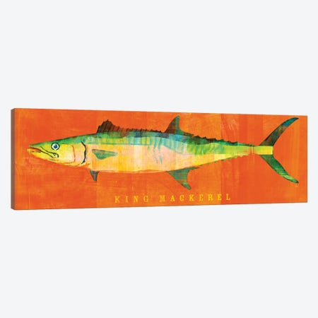 King Mackerel Canvas Print #GOL134} by John Golden Art Print