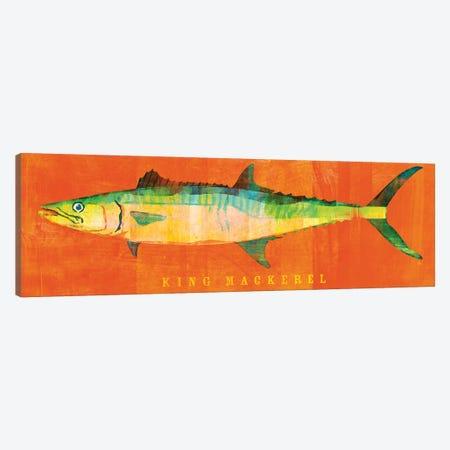 King Mackerel Canvas Print #GOL134} by John Golden Art Print
