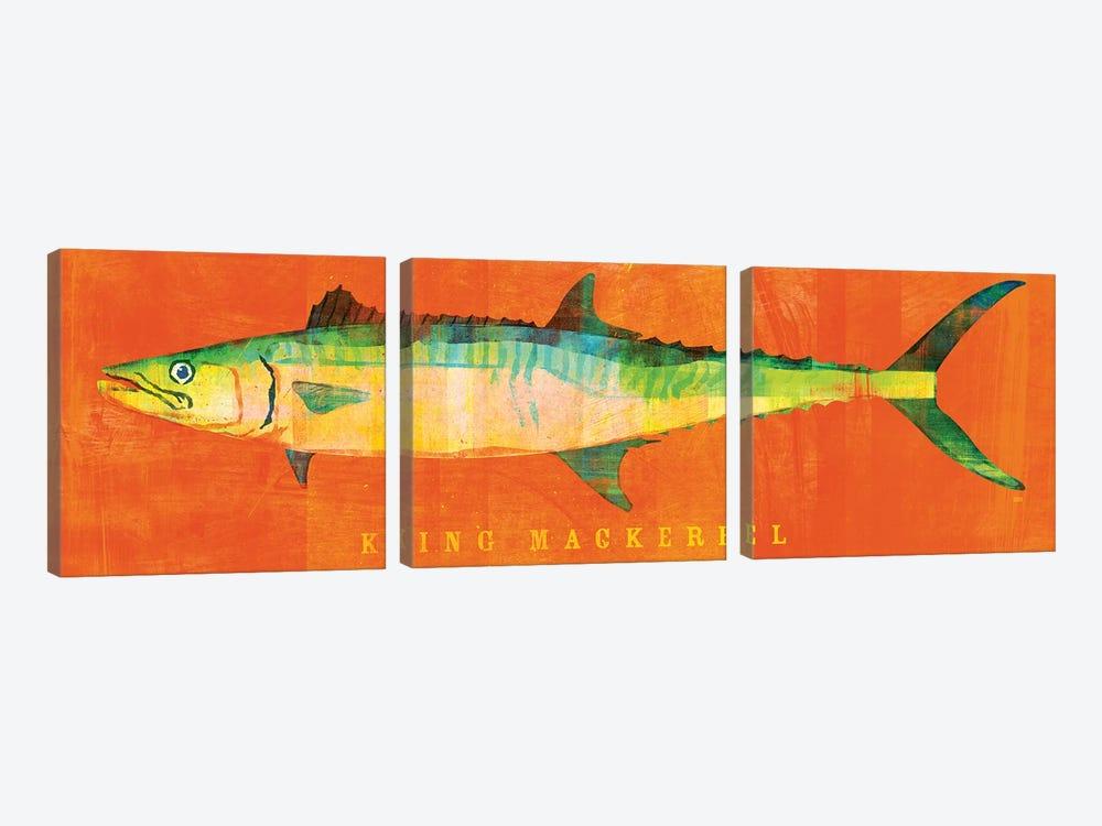 King Mackerel by John Golden 3-piece Art Print