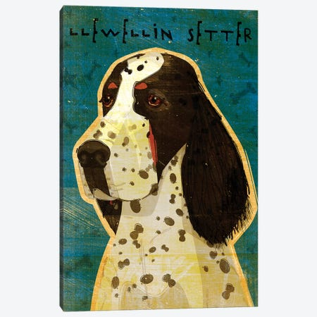 Llewellin Setter 3-Piece Canvas #GOL144} by John Golden Canvas Wall Art