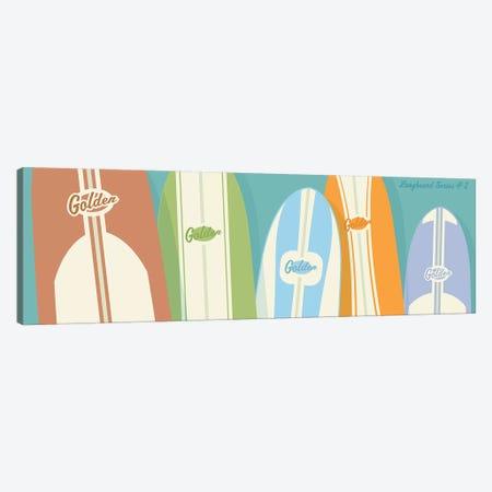 Longboards II Canvas Print #GOL147} by John Golden Canvas Artwork