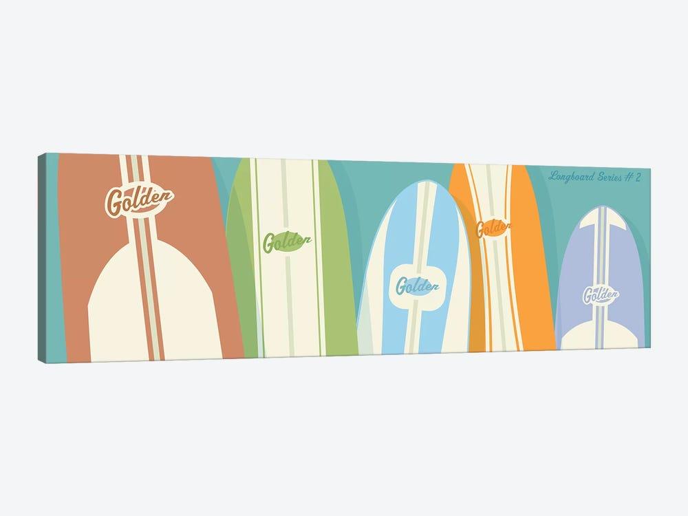 Longboards II by John Golden 1-piece Canvas Print