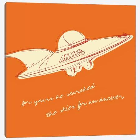 Lunastrella Flying Saucer - Square Canvas Print #GOL150} by John Golden Canvas Wall Art