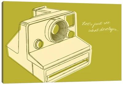 Lunastrella Instant Camera Canvas Art Print