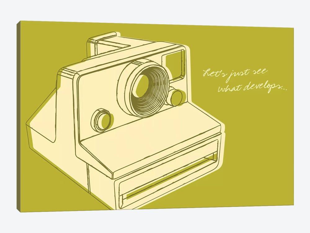 Lunastrella Instant Camera by John Golden 1-piece Canvas Print