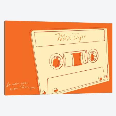 Lunastrella Mix Tape Canvas Print #GOL153} by John Golden Canvas Wall Art