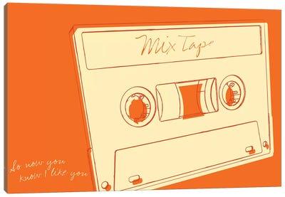 Lunastrella Mix Tape Canvas Art Print