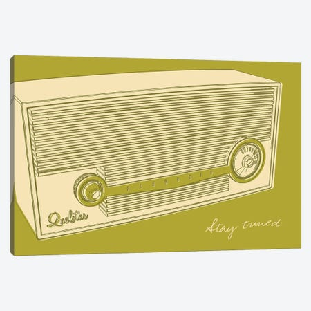 Lunastrella Radio Canvas Print #GOL154} by John Golden Canvas Art Print