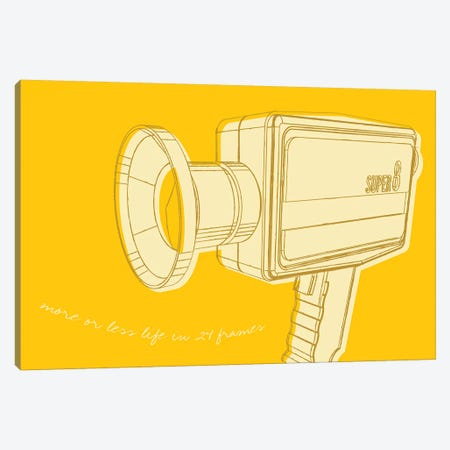 Lunastrella Super 8 Canvas Print #GOL160} by John Golden Canvas Print