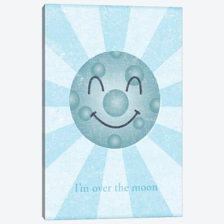 Moon II 3-Piece Canvas #GOL173} by John Golden Canvas Art