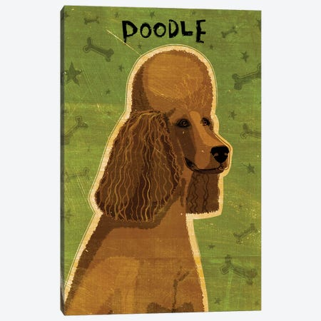 Poodle - Brown Canvas Print #GOL207} by John Golden Canvas Art Print