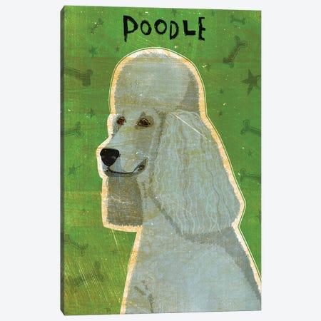 Poodle - Grey Canvas Print #GOL208} by John Golden Canvas Artwork