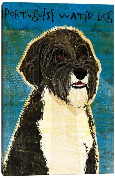 Portuguese Water Dog Canvas Art Print