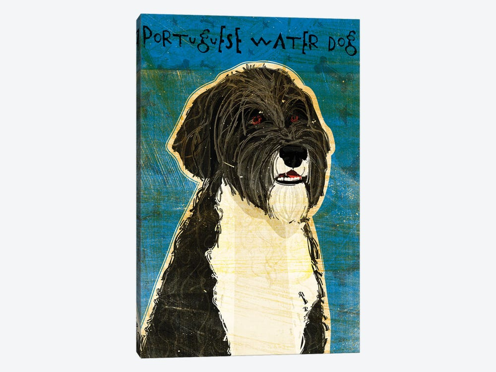 Portuguese Water Dog by John Golden 1-piece Canvas Artwork