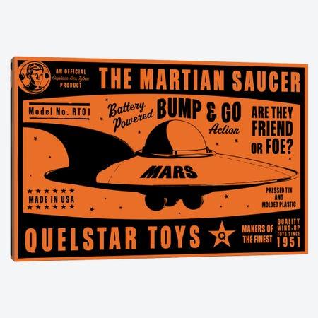 Quelstar Mars Saucer Canvas Print #GOL218} by John Golden Canvas Print