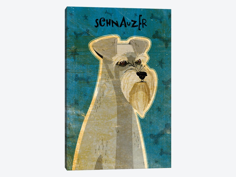 Schnauzer by John Golden 1-piece Canvas Art Print
