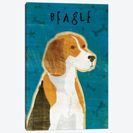 Beagle Canvas Print #GOL23} by John Golden Canvas Print