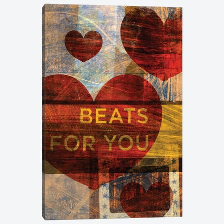 Beats For You Canvas Print #GOL25} by John Golden Canvas Artwork