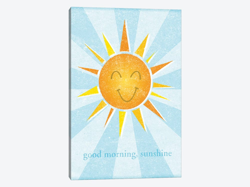 Sunshine II 1-piece Canvas Art Print