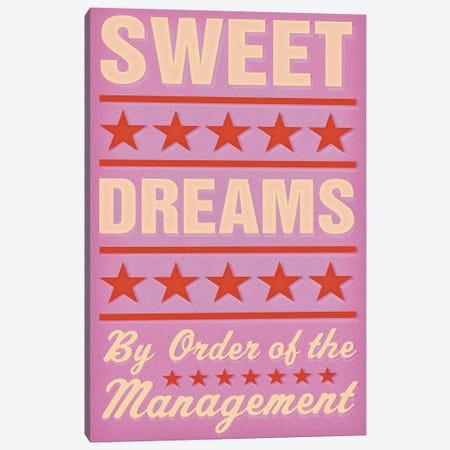 Sweet Dreams - Pink Canvas Print #GOL262} by John Golden Canvas Art