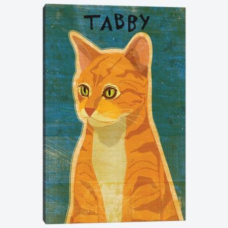 Tabby - Orange Canvas Print #GOL265} by John Golden Art Print