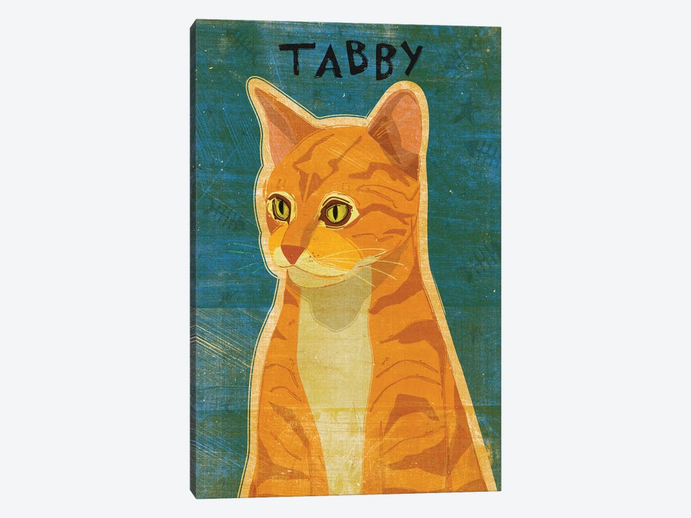 Tabby - Orange by John Golden 1-piece Art Print