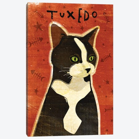 Tuxedo Canvas Print #GOL277} by John Golden Canvas Wall Art