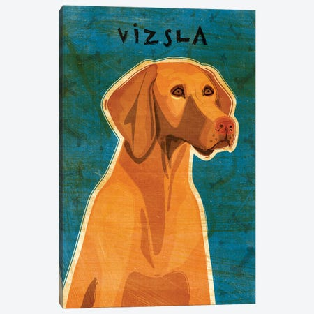 Vizsla Canvas Print #GOL279} by John Golden Art Print