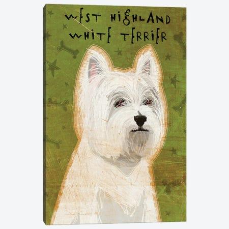 West Highland White Terrier Canvas Print #GOL286} by John Golden Art Print