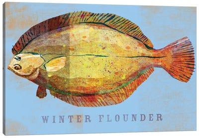 Winter Flounder Canvas Art Print