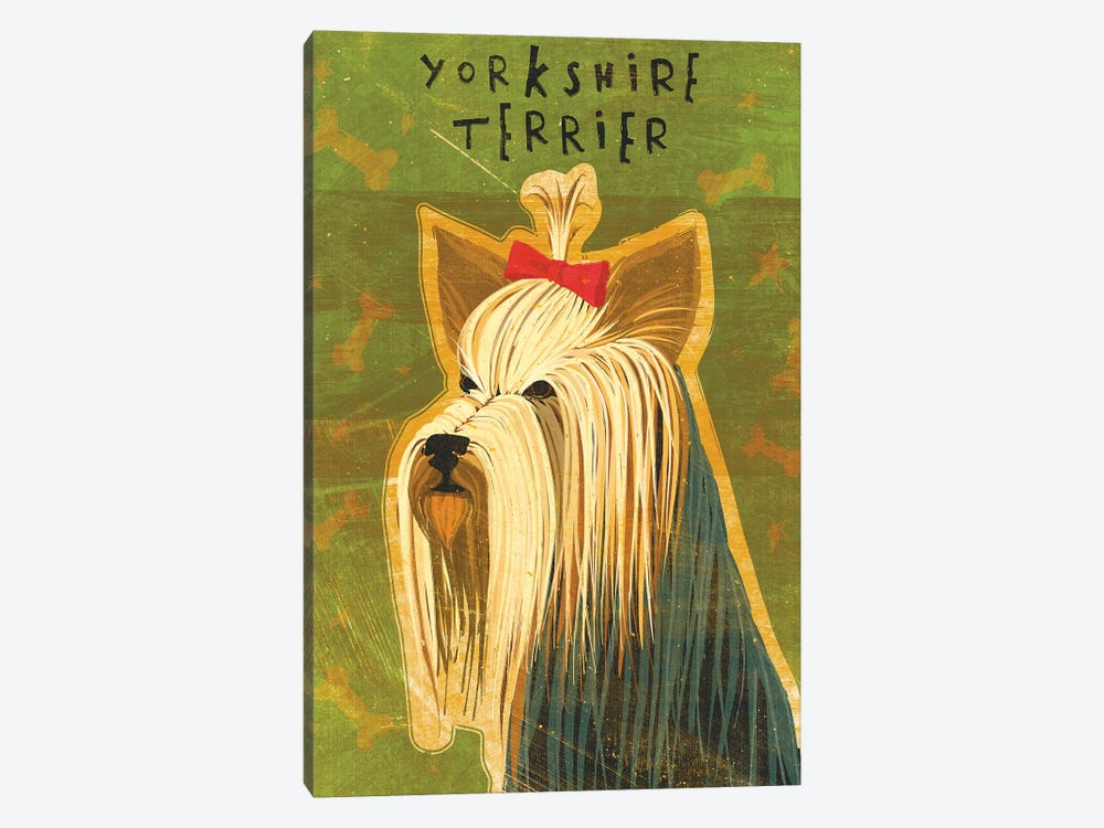 Yorkshire Terrier by John Golden 1-piece Canvas Art