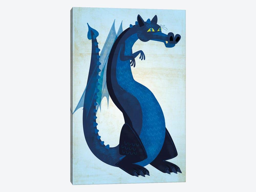 Blue Dragon by John Golden 1-piece Art Print