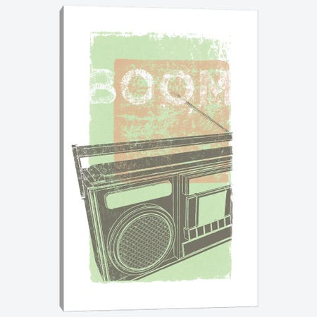 Boom Canvas Print #GOL34} by John Golden Art Print