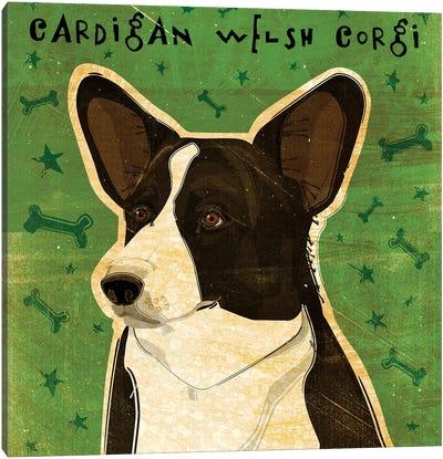 Cardigan Welsh Corgi Canvas Art Print