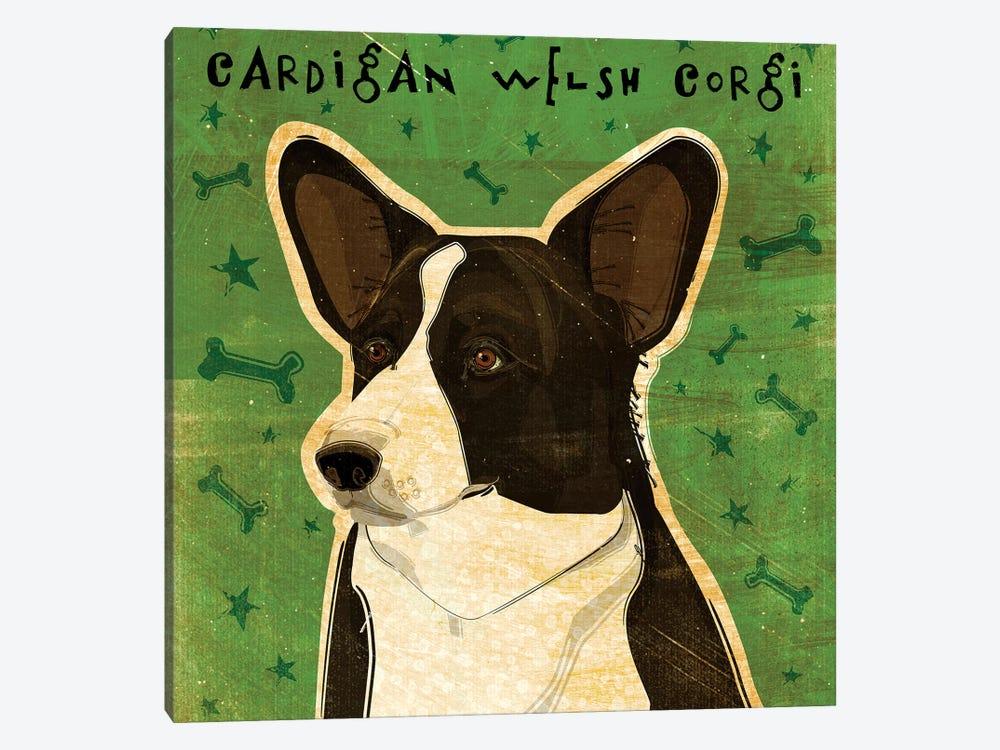 Cardigan Welsh Corgi by John Golden 1-piece Canvas Wall Art